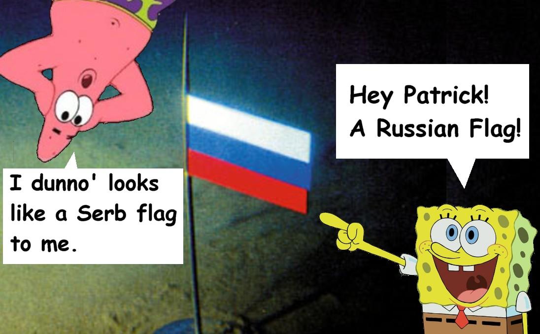 russian flag patrick i bob